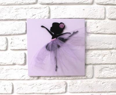 """как сделать панно с балериной своими руками, панно """"Балерина"""" пошаговый мастер-класс, аппликация балерина мастер-класс,"""