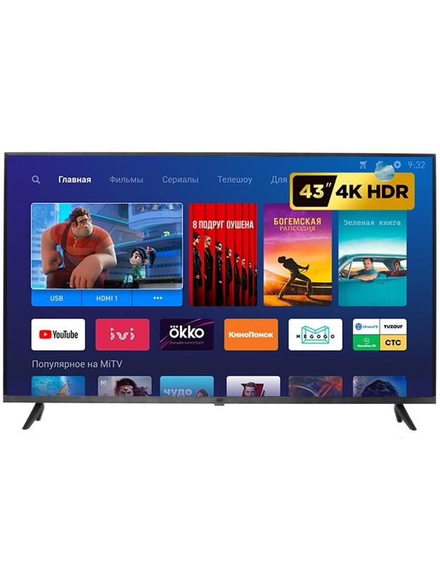 Купить новый Xiaomi Mi TV 4S 43 T2 Global 42.5