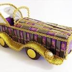 Автомобиль-кабриолет из конфет своими руками