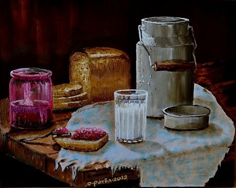Картина художника Олега Раубы.