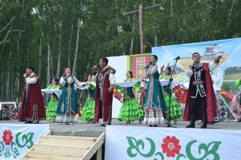Областной сельский Сабантуй в Сафакулево, изображение №1