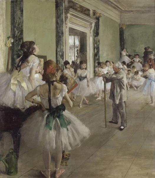 В известной шутке говорится, что если на картине изображены балерины, то это Эдгар Дега (Edgar Degas, 1834-1917 . Отчасти это верно, ведь целые дни его жизни были посвящены попыткам уловить