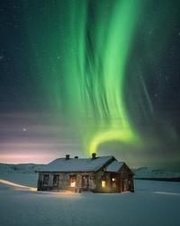 Почувствуйте прохладу. Коллекция северных сияний от фотографа Daniel Kordan.