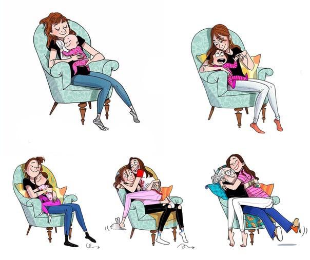 Когда твоему ребёнку пять, быть хорошей матерью не очень трудно