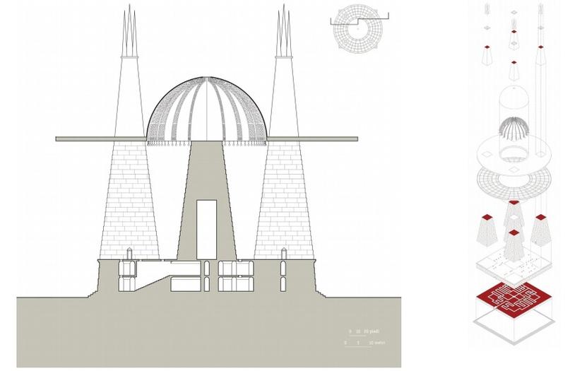 Современная схема гробницы для 3D реконструкции
