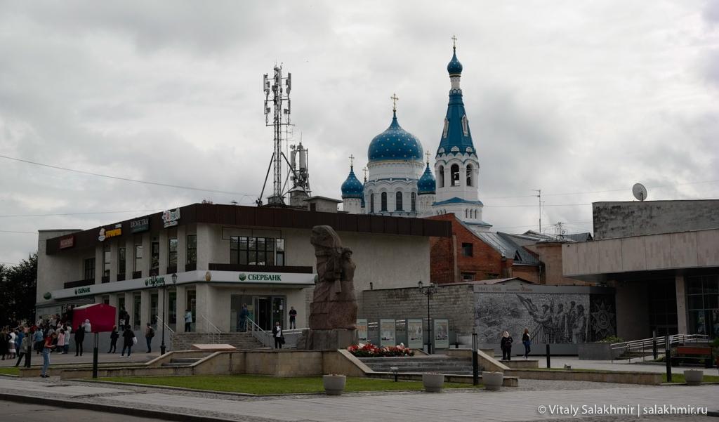 Мемориал Великой Отечественной в Гатчине 2020