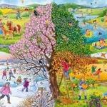 Календарь в стихах для детей