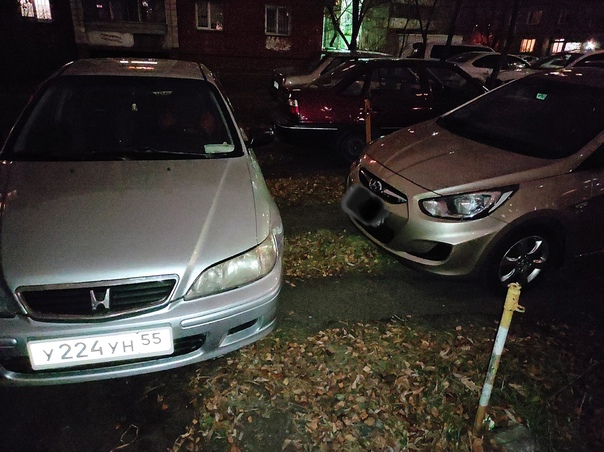 Как уже надоел самозахват парковочных мест во двор...