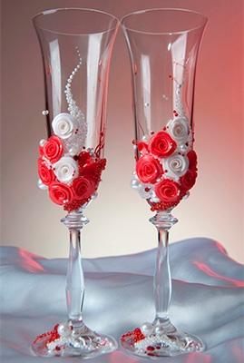 9LzFGi2BwIM - Красивые свадебные фужеры