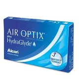 Контактные линзы AIR OPTIX® PLUS HYDRAGLYDE упаковка - 3 линзы