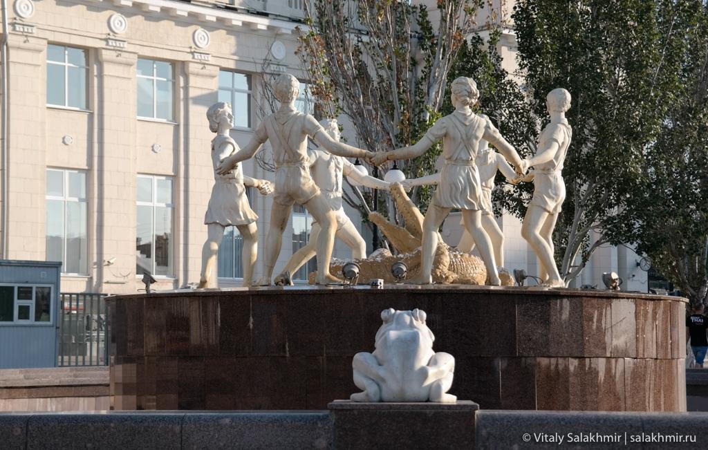 Фонтан Бармалей, Волгоград 2020
