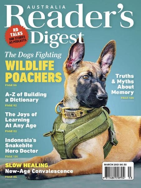 Reader's Digest AU NZ 03.2021