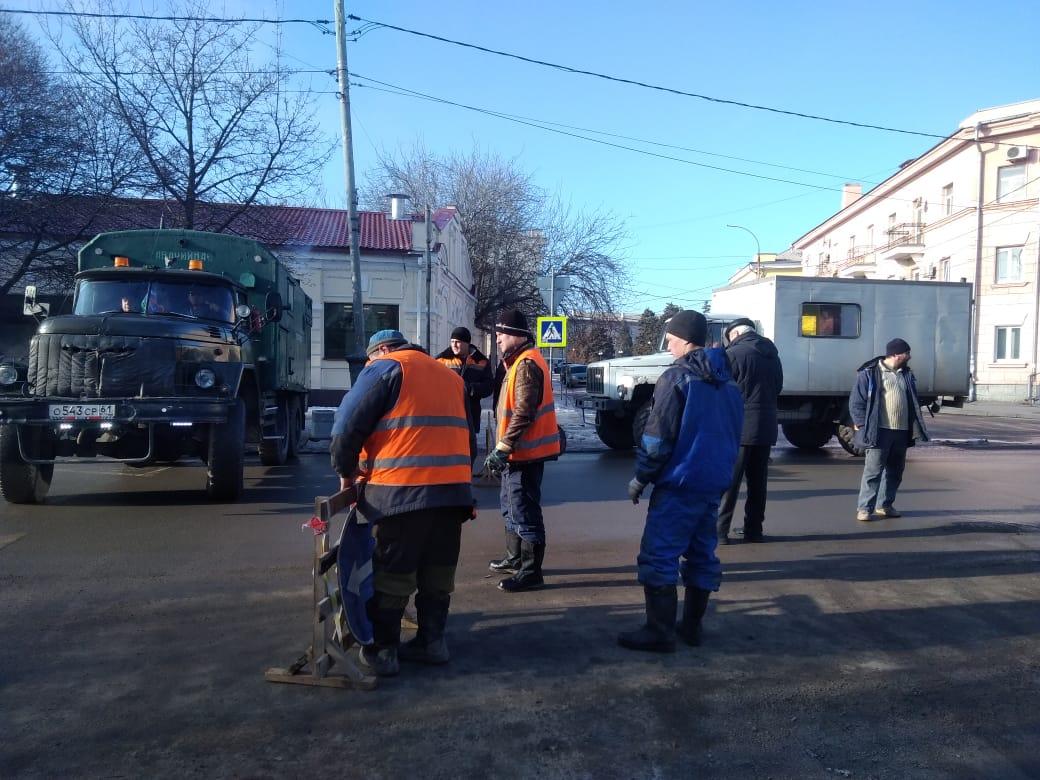 В Таганроге по улице Петровской будет временно прекращено движение транспорта