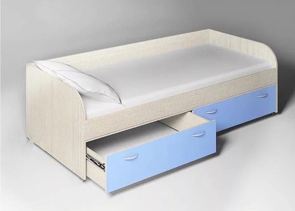 Продам кровать детскую в отличном состоянии. С мат...