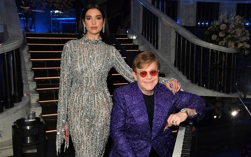Elton John & Dua Lipa ''Cold Heart'' (PNAU remix)