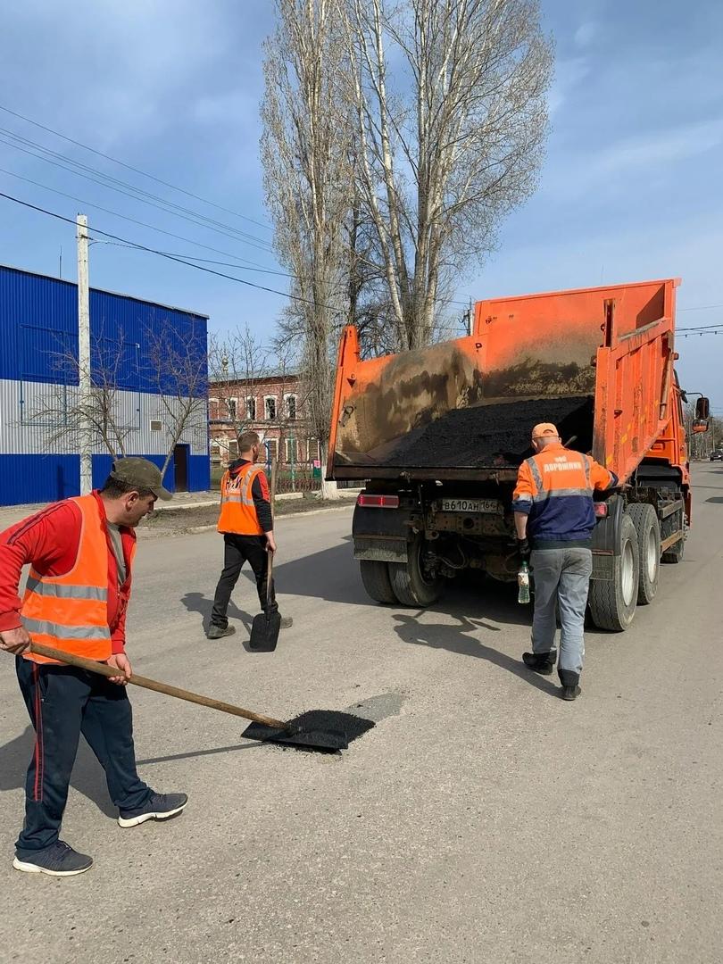 В Петровске начались дорожные ремонтные работы