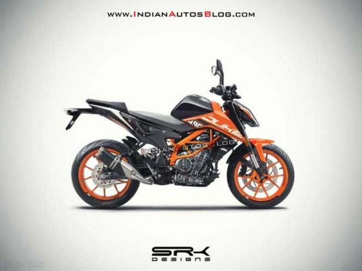 SRK Designs: предположительный дизайн KTM 490 Adventure / Duke
