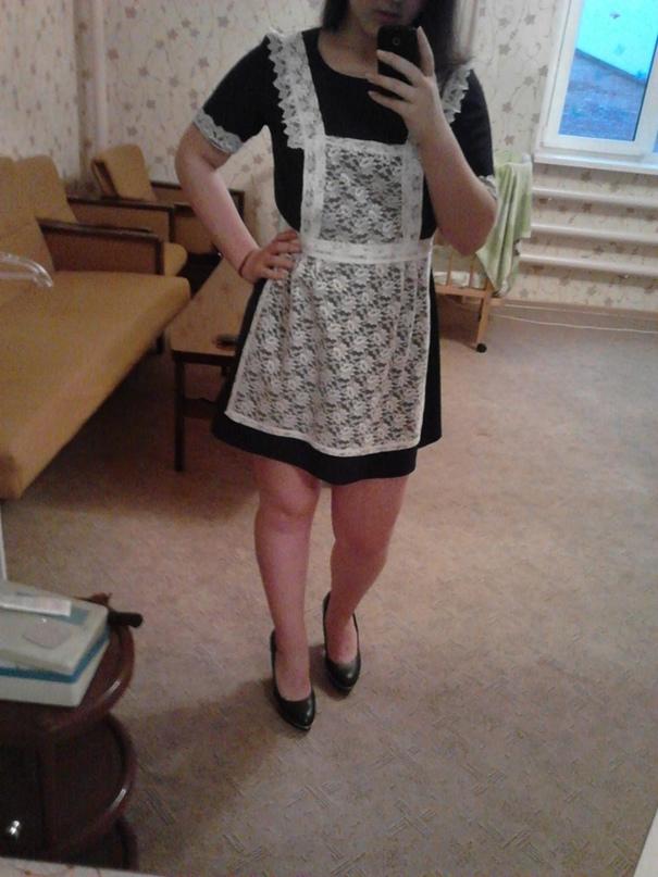 Платье 700р, фартук 250р, если все вместе,   Объявления Орска и Новотроицка №18220