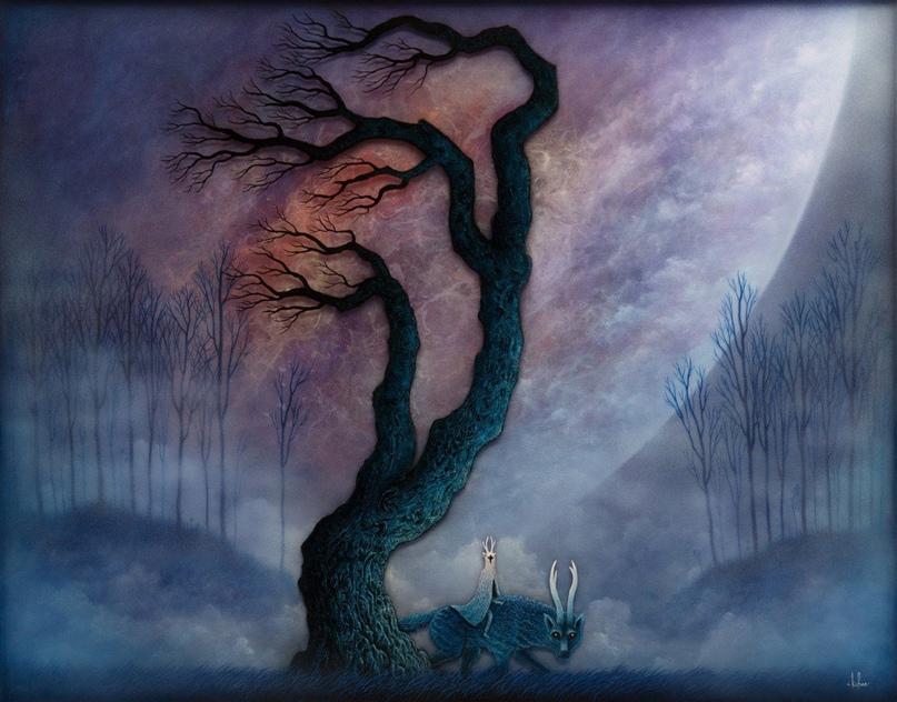 Листья сухие среди деревьев рваной сусалью на солнце кружат - уж листопад. Стриж...