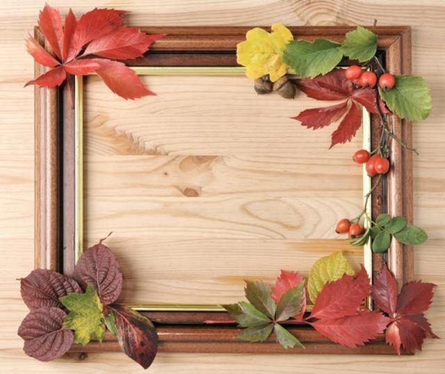 Как сделать картину из сухих цветов и листьев своими руками, как быстро высушить осенние листья для поделок,