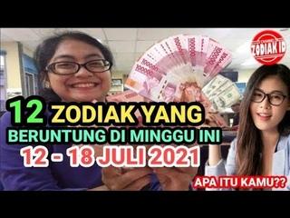 12 ZODIAK YANG SUKSES BESAR MINGGU INI 12 - 18 JULI 2021, Itu Anda?