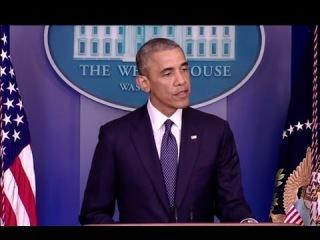 Заявление Барака Обамы по ситуации на Украине