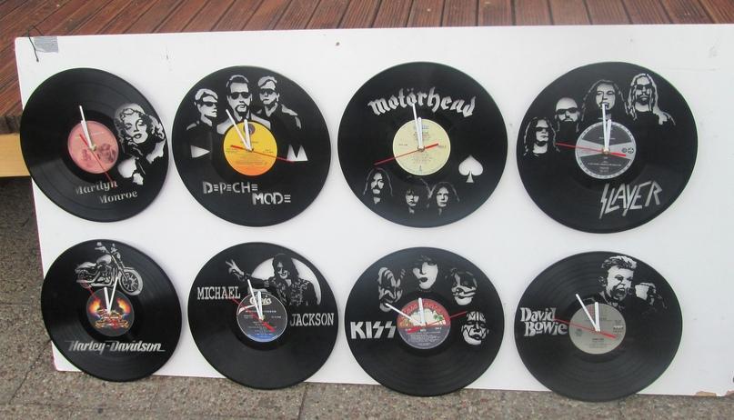Эволюция изготовления часов и других изделий из виниловых пластинок, изображение №13