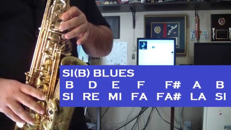 JAZZ IMPROVISATION BLUES PARTE 2 TUTORIALES PARA EL SAX ALTO SANTIAGO PACHECO