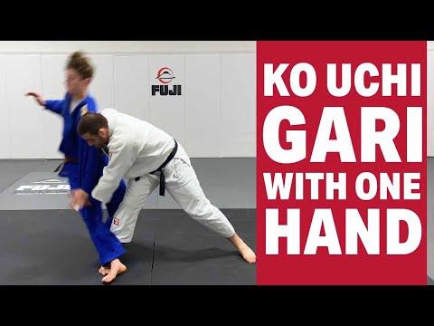 BEST OFF THE GRIP FOOT SWEEP - Travis Stevens Basic Judo Techniques