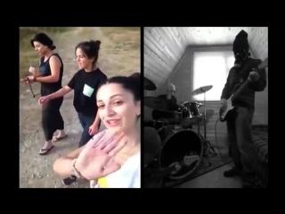 Три грузинские девушки из группы Trio Mandili спели песню, а парни из Норвегии поддержали и создали кавер! И песня зазвучала по-