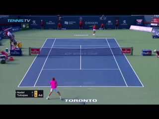 Nadal beats Tsitsipas to win 80th ATP title in Toronto!  Rogers Cup 2018 Final Highlights