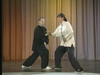 Single Hand Push Hands Techniques Demonstrated with a Partner