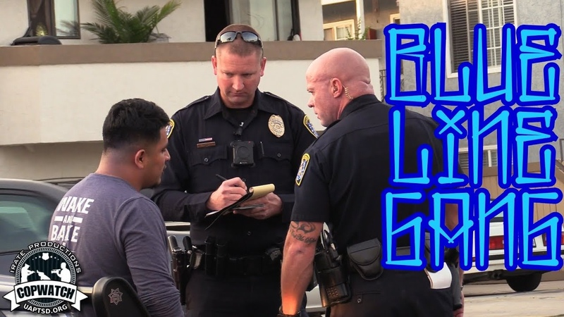 Copwatch GST Pretext Traffic Stop Search w California Guardian