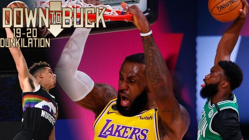 DTB's Best NBA Dunks of the Bubble 2019 20 Bubble Dunkilation
