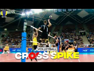 Top 25 astonishing cross spike ● part 3. volleyball hit.