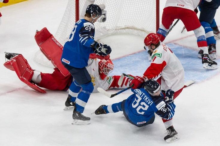 Россия проиграла Финляндии в матче за третье место на МЧМ (Видео)
