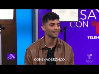 CNCO entrevista para En Casa (Telemundo) | Conexão BR CNCO