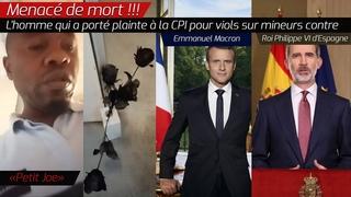 Menacé de mort, l'homme qui a porté plainte à la CPI contre E. Macron pour viols sur mineurs dénonce