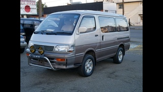 SOLD:1993 Toyota Hiace Supercustom Limited 4WD KZH106, turbo diesel 1KZ-TE (на русском языке)