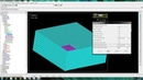 Modelling of PZT patch and aluminum block in ANSYS