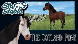 SSO - *SPOILER* - The Gotland Pony - All Animations, Colors, Manes, Stats and Price