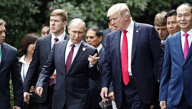 Горбачёв обратился к Путину и Трампу