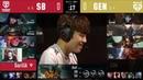 GEN vs. SB Игра 1 | Week 9 LCK Summer 2020 | ЛЦК Чемпионат Кореи | GEN.G vs SandBox Gaming
