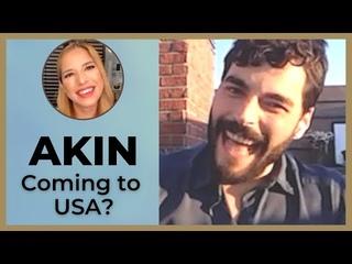 Akin Akinozu ❖ Are you coming to the USA? ❖ Interview ❖ English ❖ 2021