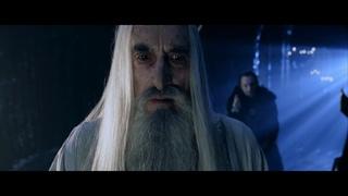 Грима Гнилоуст рассказывает Саруману о Наследнике Исильдура