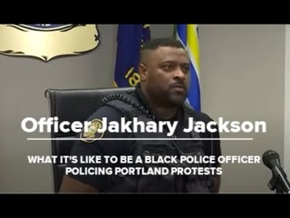 KGW: What it's like to be a Black officer policing Portland protests | Raw interview