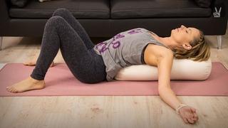 Yin Yoga für Entspannung nach einem stressigen Tag