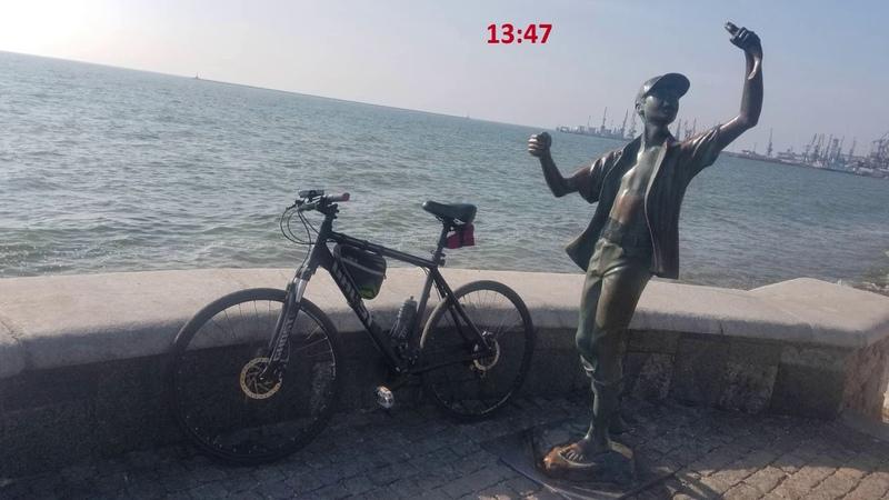 Мариуполь 18 10 2020 Мариуполь Бердянск Мариуполь за 11 часов на велосипеде
