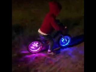 Puky подсветка для колес беговелов и велосипедов
