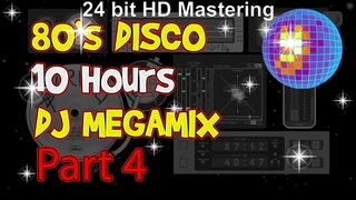 """80s Disco Greatest Hits 12"""" Nonstop Mix Vol.4 ( Euro Hits Full Mix )"""